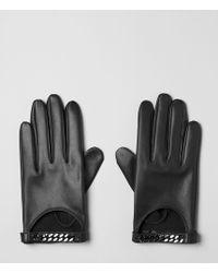 AllSaints - Chainy Gloves - Lyst