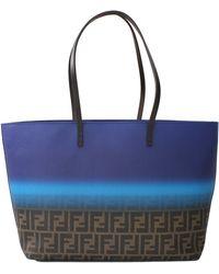 Fendi Roll Shopping Bag - Lyst