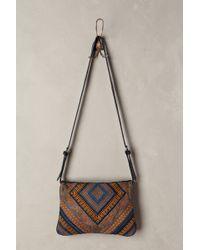 Antik Batik Embroidered Envelope Clutch - Lyst