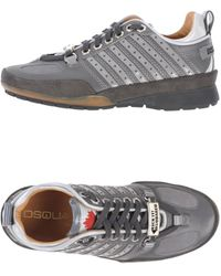 DSquared2 Low Top Trainers - Lyst