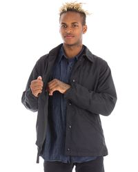 Engineered Garments | Ground Jacket In Black Nyco Ripstop | Lyst