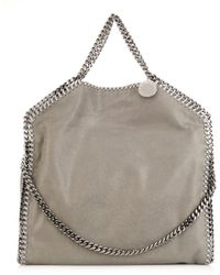 Stella McCartney Falabella Medium Faux-suede Shoulder Bag - Lyst