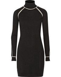 Karl Lagerfeld Nora Cashmere Turtleneck Sweater Dress - Lyst