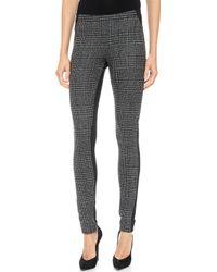 Donna Karan New York Jersey Panel Pants Black - Lyst