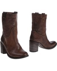 Open Closed - Ankle Boots - Lyst