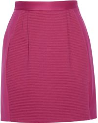 M Missoni Stretchwool Mini Skirt - Lyst