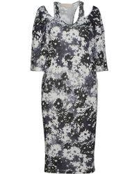 Stella McCartney Blue Knee-length Dress - Lyst