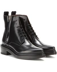 Acne Studios Linden Patentleather Boots - Lyst