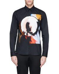 Givenchy Madonna Halo Abstract Print Poplin Shirt - Lyst