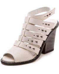 Frēda Salvador - Explore Ankle Strap Sandals - Lyst