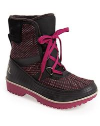 "Sorel 'Tivoli Ii"" Waterproof Blanket Boot black - Lyst"