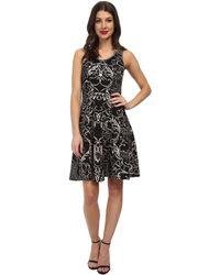Karen Kane Scuba Print Dress - Lyst
