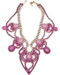 Doloris Petunia Louisville Necklace Ombre Pink - Lyst