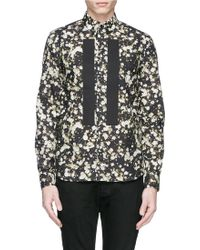 Givenchy Multicolor Flower Shirt - Lyst