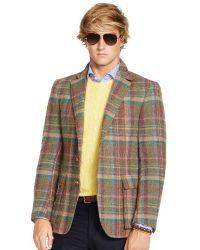Polo Ralph Lauren Bedford Bold Plaid Sport Coat - Lyst
