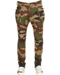 Griffin - Printed Ripstopgabardine Cargo Trousers - Lyst