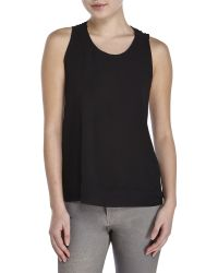 Maje | Knotted Racerback Tank | Lyst