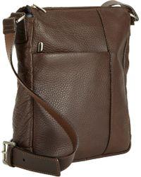 Barneys New York Small Messenger Bag - Lyst