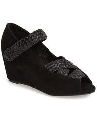 Jeffrey Campbell 'Elgie' Strappy Wedge Pump - Lyst