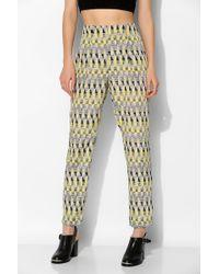 Sparkle & Fade - Geo Print Trouser Pant - Lyst