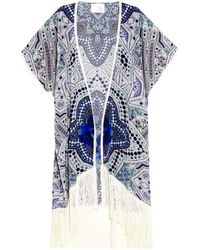 Athena Procopiou - The Girl In The Indigo Jewels Cover-Up - Lyst