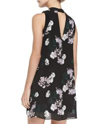A.L.C. Drie Floralprint Silk Dress - Lyst
