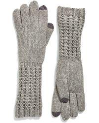Echo - 'touch - Luxe' Knit Tech Gloves - Lyst