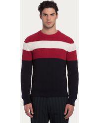 Bally Cotton Sweater - Lyst