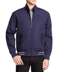 Fred Perry Paper Touch Harrington Jacket - Lyst