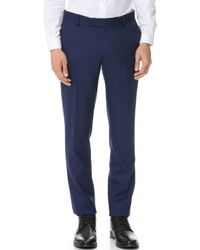 The Kooples - Pique Suit Trousers - Lyst