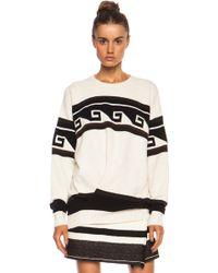 Isabel Marant Samuel Surround Knit Polyamideblend Pullover - Lyst
