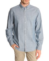 Tommy Hilfiger Button-Down Chambray Shirt - Lyst