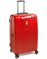 Ferrari - 'hi-tech - Large' Wheeled Suitcase - Lyst