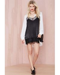 Nasty Gal Dual Personality Lace Dress - Lyst