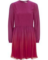 Matthew Williamson Ombrã© Chiffon Dress - Lyst