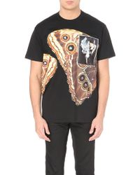 Givenchy Butterfly Graphic Cotton-Jersey T-Shirt - For Men - Lyst
