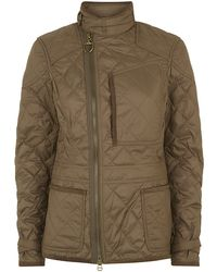 Ralph Lauren Blue Label Diamond Quilted Motto Jacket - Lyst