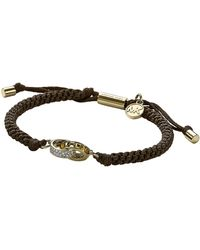 Michael Kors Colorado Topaz and Cord Bracelet - Lyst