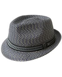 Bailey of Hollywood - Textured Fedora - Lyst