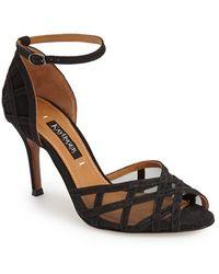 Kay Unger - 'meenika' Ankle Strap Sandal - Lyst