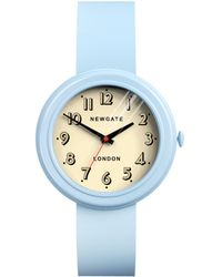Newgate Watches | Unisex Corgi Stainless Steel Silicone Strap Watch | Lyst
