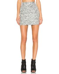 Fifteen Twenty - Melange Mini Skirt - Lyst