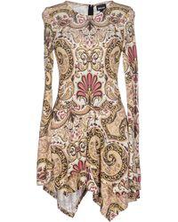 Just Cavalli Printed Jersey Tshirt Dress multicolor - Lyst