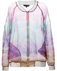 Manish Arora Sheer Printed Jacket - Lyst