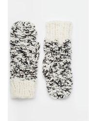 ASOS - Twist Knit Mittens - Lyst