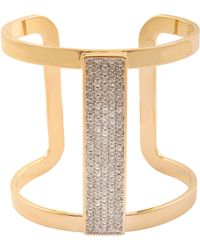 Juicy Couture Strike Pave Cuff - Lyst
