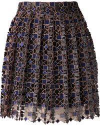 Mary Katrantzou Pleated Skirt - Lyst