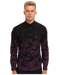 McQ by Alexander McQueen Swallow Degrade Classic Shirt - Lyst
