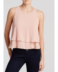 Twelfth Street Cynthia Vincent Tank - Double Layer Swing Tank - Lyst