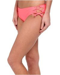 Seafolly Goddess Lace Up Hispter - Lyst